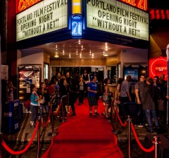 Opening night of the Portland Film Festival